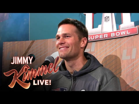 Jimmy Kimmel Live - Guillermo at Super Bowl Media Night