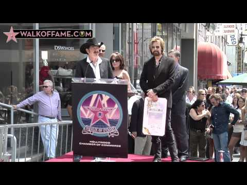 Brooks & Dunn Walk of Fame Ceremony