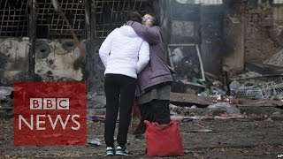 Ukraine election: Land of chaos&courage - BBC News