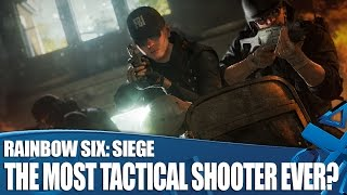 Join Rob as he talks Animation Director Scott Mitchell about the new features that might make Rainbow Six: Siege the most tactical shooter ever. PlayStation ...