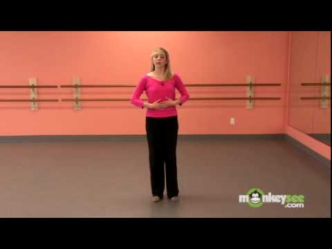 Джаз танец: пируэты. Урок видео.