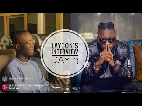 LAYCON'S INTERVIEW TODAY WITH TOOXCLUSIVE|LAYCON MEDIA TOUR DAY 3|DON'T ASK ME QUESTIONS ABOUT ERICA