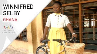 Winnifred Selby is the co-founder of Ghana Bamboo Bikes and the President of EPF Educational Empowerment Initiative, which promotes education and life chances for refugee children and girls from deprived communitiesThe Queen's Young Leaders programme discovers, celebrates and supports exceptional young people from across the Commonwealth.Find out more at https://queensyoungleaders.comSubscribe ► http://bit.ly/1gXbQkj Visit Us ► http://comicrelief.comFacebook ► https://facebook.com/comicreliefTwitter ► https://twitter.com/comicrelief-------------------------------------------Thanks for all your support - sharing the video and leaving a comment is always appreciated. Please respect each other in the comments!Donate: https://www.comicrelief.com/donateOur mission is to drive positive change through the power of entertainment.© Comic Relief 2017. Registered charity 326568 (England/Wales); SC039730 (Scotland)