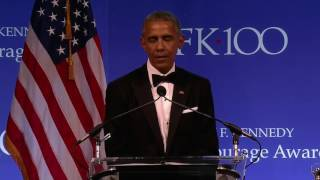 Video Barack Obama Full Speech 2017 Profiles in Courage Award MP3, 3GP, MP4, WEBM, AVI, FLV Oktober 2017