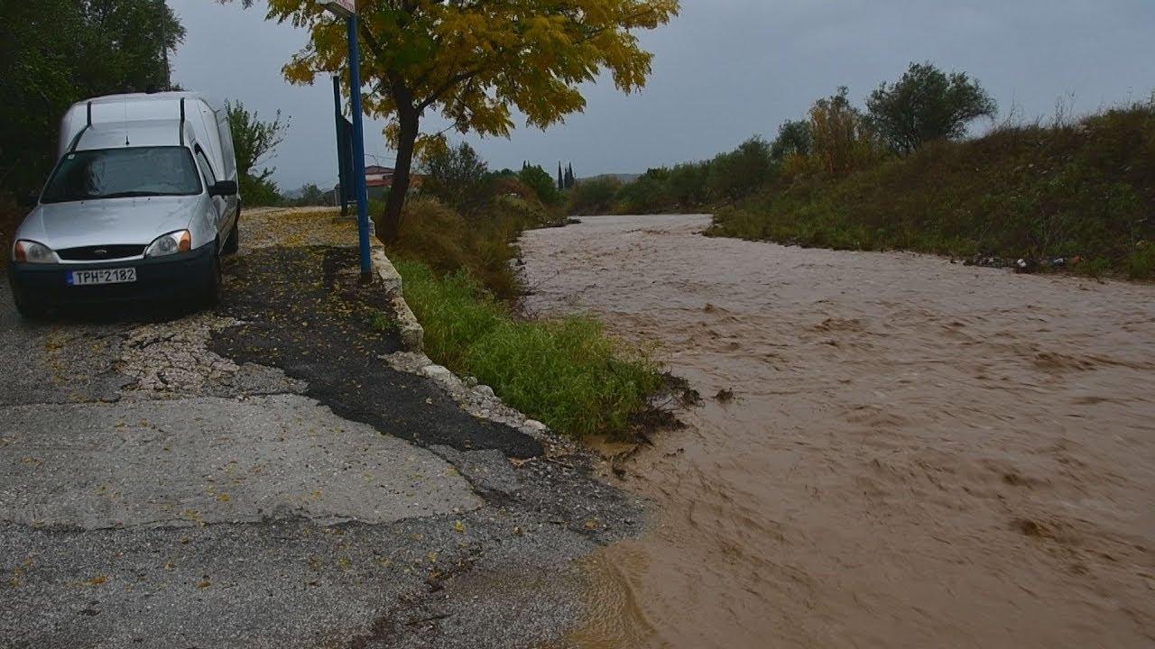 Πλημμύρα και καταστροφές από την κακοκαιρία στην Αργολίδα