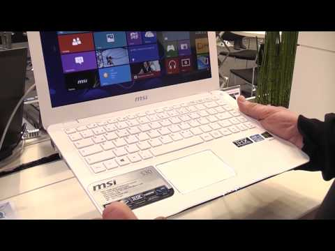 MSI S30 Ultrabook Overview CeBIT 2013