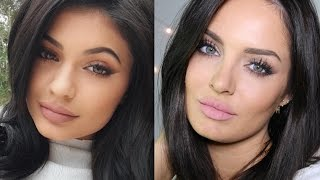 Kylie Jenner Smokey Cat Makeup Tutorial \\ ChloeMorello
