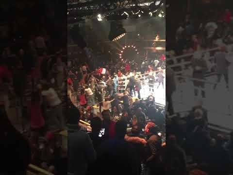 Embrouille combat boxe Main Évent 5 Marvin Petit Samir Kasmi