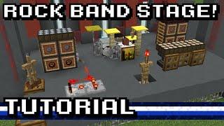 Minecraft: Rock Band Stage! [Tutorial]