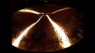 This is a Diril Cymbals Jazz Ride. It's a 22'' and it weighs 2480 grams.These videos are intended only as a guide. I am uploading them because there are very few samples of Diril Cymbals available. Please do not judge the actual sound of the cymbals based on these videos, they are so much better than my humble recording equipment could ever illustrate.