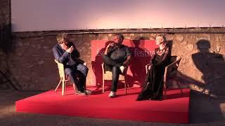 Boris Sollazzo intervista Simone Spada e Caterina Shulha all'Ischia Film Festival 2018