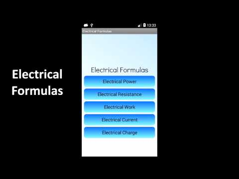 Video of Electrical Formulas