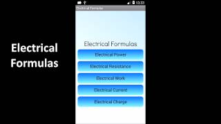 Electrical Formulas YouTube video