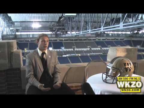 Alex Carder at 2012 MAC Media Day
