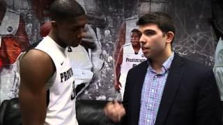 Kris Dunn with Craig Belhumeur – Providence 60 Georgetown 57