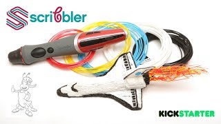 Our Dual-Nozzle Scribbler 3D Pen takes it to another level! With multiple new functions to help take your creativity to the moon. Buy on Kickstarter — http:/...