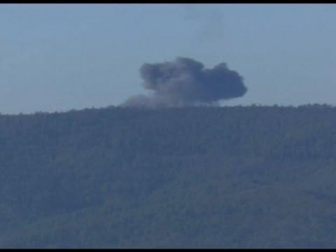 Turska srušila ruski vojni avion kod granice sa Sirijom