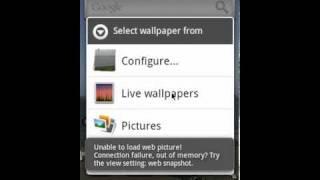 WebLiveWallpaper BETA YouTube video