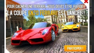 First try in new Ferrari Enzo cup, French Guiana event. Finish in the first 20 to win the car...it'll be hard... — La Ferrari ENZO est de...