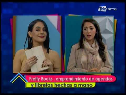 Pretty Books: emprendimiento de agendas y libretas hechas a mano