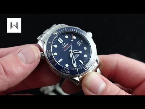 Omega Seamaster Professional 300M Co-Axial Diver Luxury Watch Review