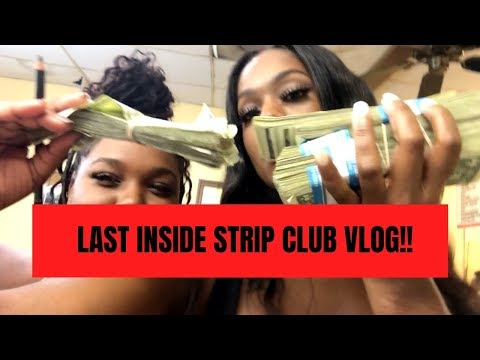 LAST INSIDE STRIP CLUB VLOG // GIRL TRIES TO STEAL MY MONEY // WHAT DO STRIPPERS DO ON THEIR PERIOD?