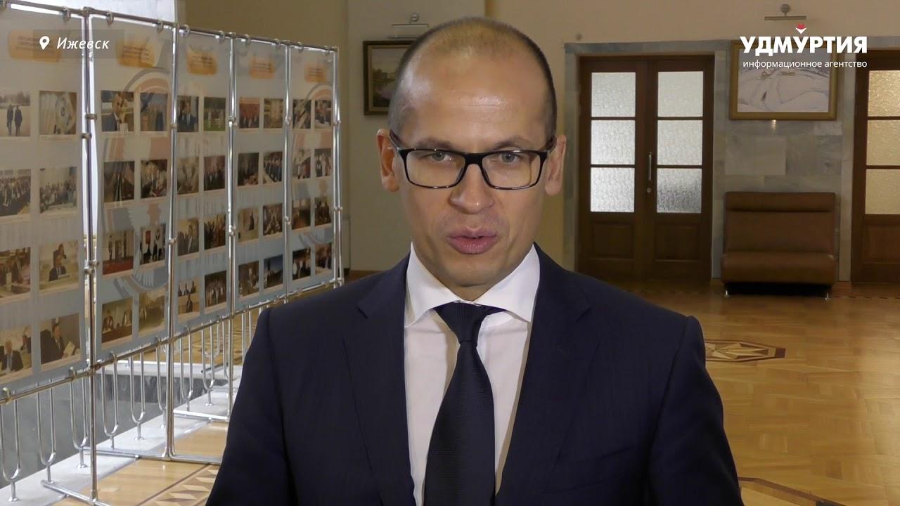 Александр Бречалов о реструктуризации правительства Удмуртии