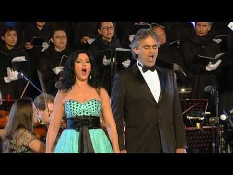 Tekst piosenki Andrea Bocelli - Libiamo ne' lieti calici  feat. P. Yende, B. Terfel, A.M. Martinez po polsku