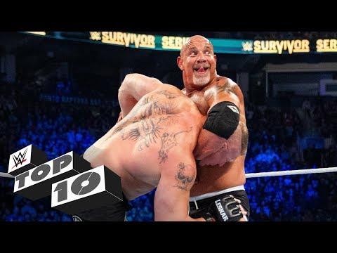 Goldberg's biggest Jackhammers: WWE Top 10, Feb. 9, 2020