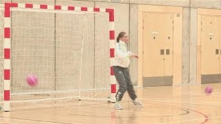 This guide shows you How To Be A Goal Keeper in HandballWatch This and Other Related films here: http://www.videojug.com/film/how-to-handball-goalkeepingSubscribe! http://www.youtube.com/subscription_center?add_user=videojugsportCheck Out Our Channel Page: http://www.youtube.com/user/videojugsportLike Us On Facebook! https://www.facebook.com/videojugFollow Us On Twitter! http://www.twitter.com/videojug
