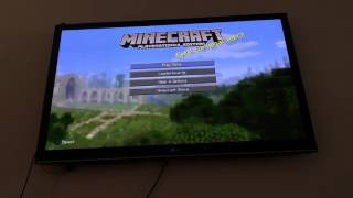 How to make a flat world on Minecraft Xbox or PS4