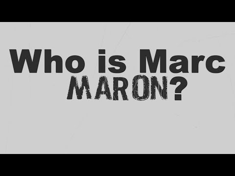 Who is Marc Maron? | Video Essay