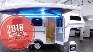 6. 2018 Escape 5.0 TA Trailer Tour (5th Wheel) (148)