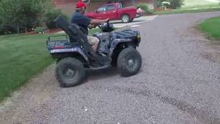 1. 2006 Polaris Browning Sportsman 450 ATV,