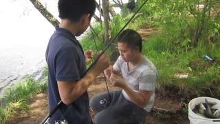 Hmong Fishing White Bass WI