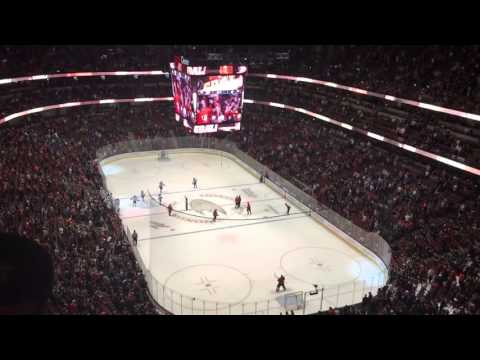 Anaheim Ducks goal horn and song full live