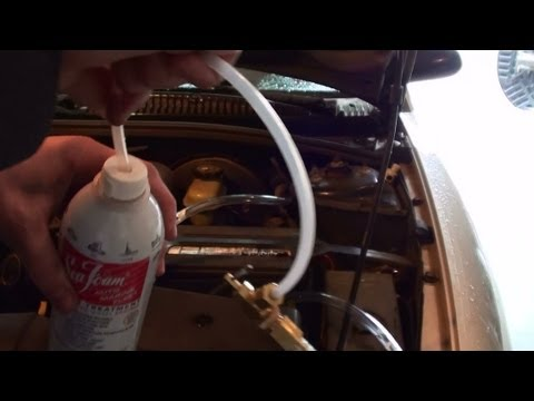 how to drain petrol out of car