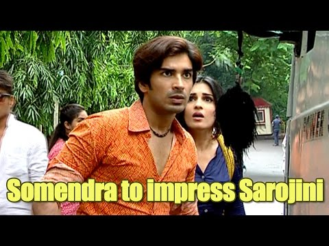 Somendra tries to kill himself to prove his love t