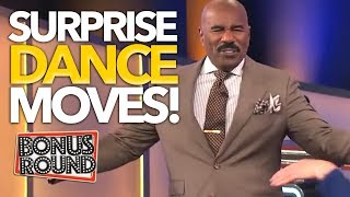Video SURPRISE FAMILY FEUD Contestants That Can DANCE ... Steve Harvey EVEN JOINS IN! Bonus Round MP3, 3GP, MP4, WEBM, AVI, FLV Desember 2018