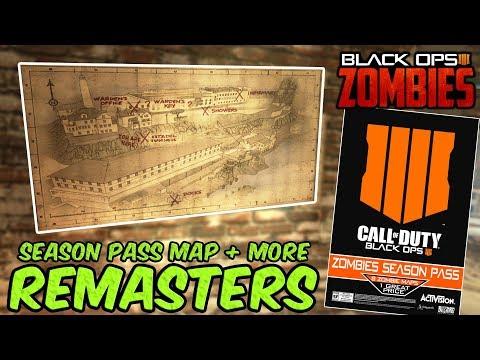 BLACK OPS 4 ZOMBIES - NUKETOWN REMASTERED, SEASON PASS EXCLUSIVE! (Bo4 DLC News / Theory)