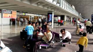 A walk through Hong Kong 香港 International airport