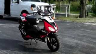 7. 2014 Aprilia SR50 Factory SBK Replica Walkaround Video at Euro Cycles of Tampa Bay