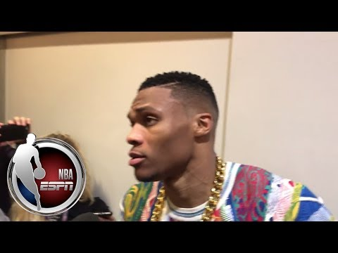 Video: Russell Westbrook recaps Thunder's performance against Celtics| NBA on ESPN