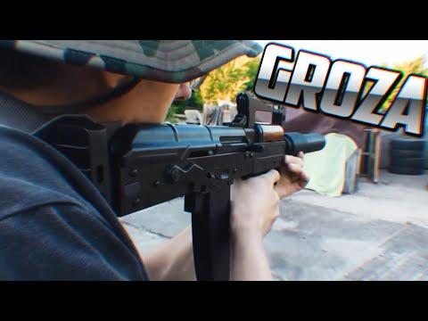 ARMAS DE FREE FIRE EN LA VIDA REAL | GROZA, SKS, AWM, SCAR, M4A1 etc... | Dezzed.