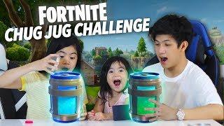 Video Fortnite Chug Jug Challenge | Ranz and Niana MP3, 3GP, MP4, WEBM, AVI, FLV Desember 2018