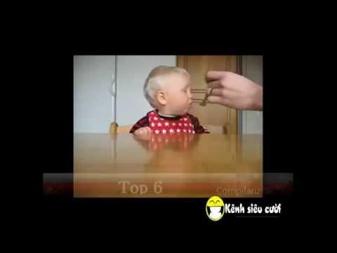 clip Khi bé buồn ngủ Video clip hài hước