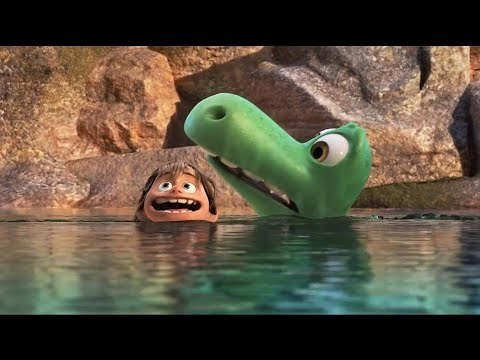 The Good Dinosaur 2015  -  Funny Moments