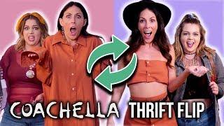 $30 DIY Thrift Store Coachella Outfit CHALLENGE ft Sierra Schultzzie!