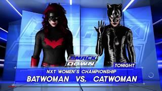 WWE 2K18 Batwoman Vs Catwoman