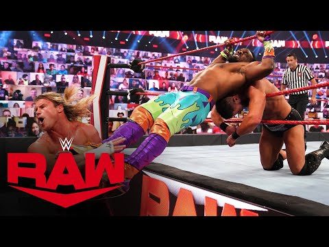 The New Day vs. Dolph Ziggler & Robert Roode – Raw Tag Team Championship Match: Raw, Oct. 12, 2020
